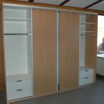 vestavěná šatní skříň - ve výrobě
